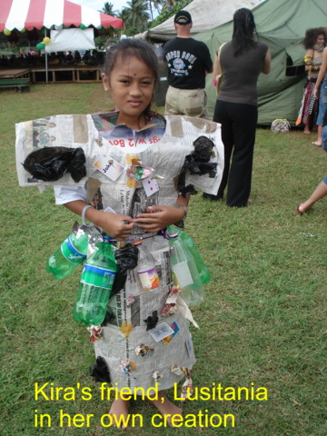 Dress Made Of Newspapers